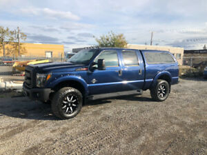 2011 F250 loaded up after factory