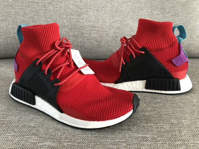 wholesale dealer 26785 52ce2 New Sz 10 Adidas NMD XR1 Winter Mid Scarlet Ultra Boost Limited BZ0632 Yzy