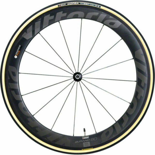Vittoria Pista G 2.0 Graphene clincher 700 x 23 black gum sidewall 2 tires