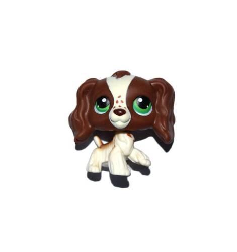 Littlest Pet Shop Chocolate Brown Long Hair Ear Cocker Dog Loose Figure