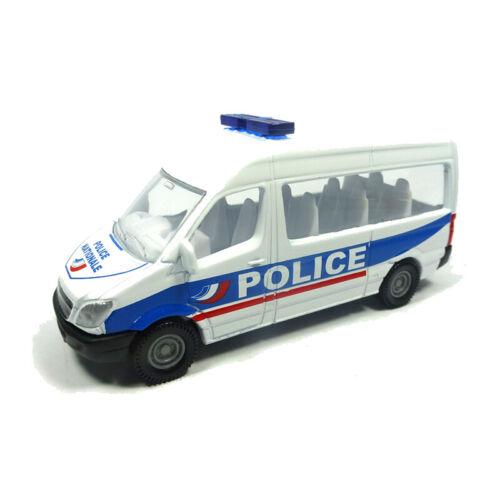 """Siku 0806 Mercedes Benz Sprinter /""""Police Frankreich/"""" weiß ° Blister NEU"""