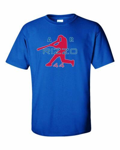 """Anthony Rizzo Chicago Cubs /""""Air Rizzo/"""" T-shirt  S-5XL"""