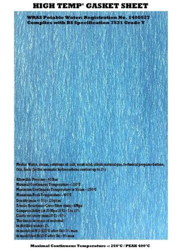 Junta de papel de alta temperatura HOJA MATERIAL-Agua Aceite Gas Sellador química