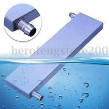 161*41*12mm Aluminium Water Cooling Heatsink Block Waterblock Cooler For CPU GPU