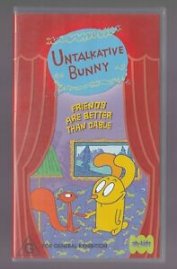 Untalkative-Bunny-Friends-Are-Better-Than-Cable-VHS-Video-Cassette-ABC-Kids