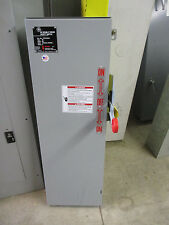 Ge Tdt3322r 60 Amp 240 Volt Fusible Nema 3r Double Throw Switch Ats235 New