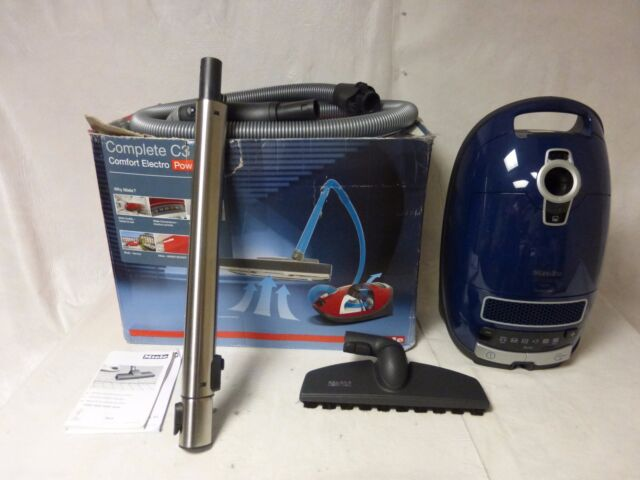 Miele Complete C3 Marin Canister Vacuum Cleaner Marine