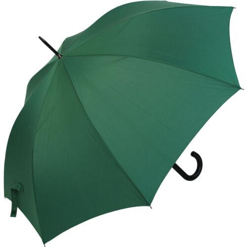 Regenschirm XXL Damen-Herren Stockschirm 113 cm groß stabil mit Automatik