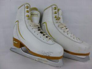 Bladerunner-Aurora-Women-039-s-Figure-White-Ice-Skates-Sz-5