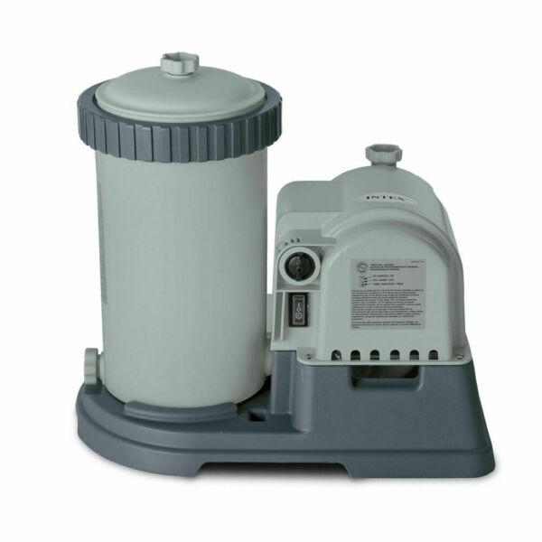 Intex Above Ground Pool Filter Pump With Timer 2500 Gph