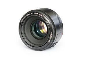 YONGNUO YN50mm F1.8 Standard Prime Lens Large Aperture Auto Focus Lens for Ca...