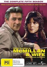 Mcmillan and Wife - The Complete Fifth Season (4 DVD Set) NEW R4 DVD
