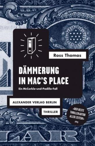 1 von 1 - Dämmerung in Mac's Place von RossThomas (Kunststoffeinband) | Buch