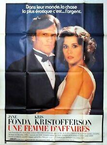 Plakat Kino Une Damen Business Jane Fonda 120 X 160 CM