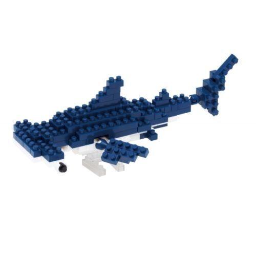 Nano Block Micro-Sized Building Blocks NBC-137 NEW NANOBLOCK Hammerhead Shark