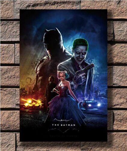 Joker The Batman Harley Hot Classic Theatrical T-2087 Art Poster 24x36 27x40