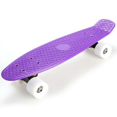 "22/"" completa Mini stile retrò Cruiser moda Street Skate Skateboard OO55"