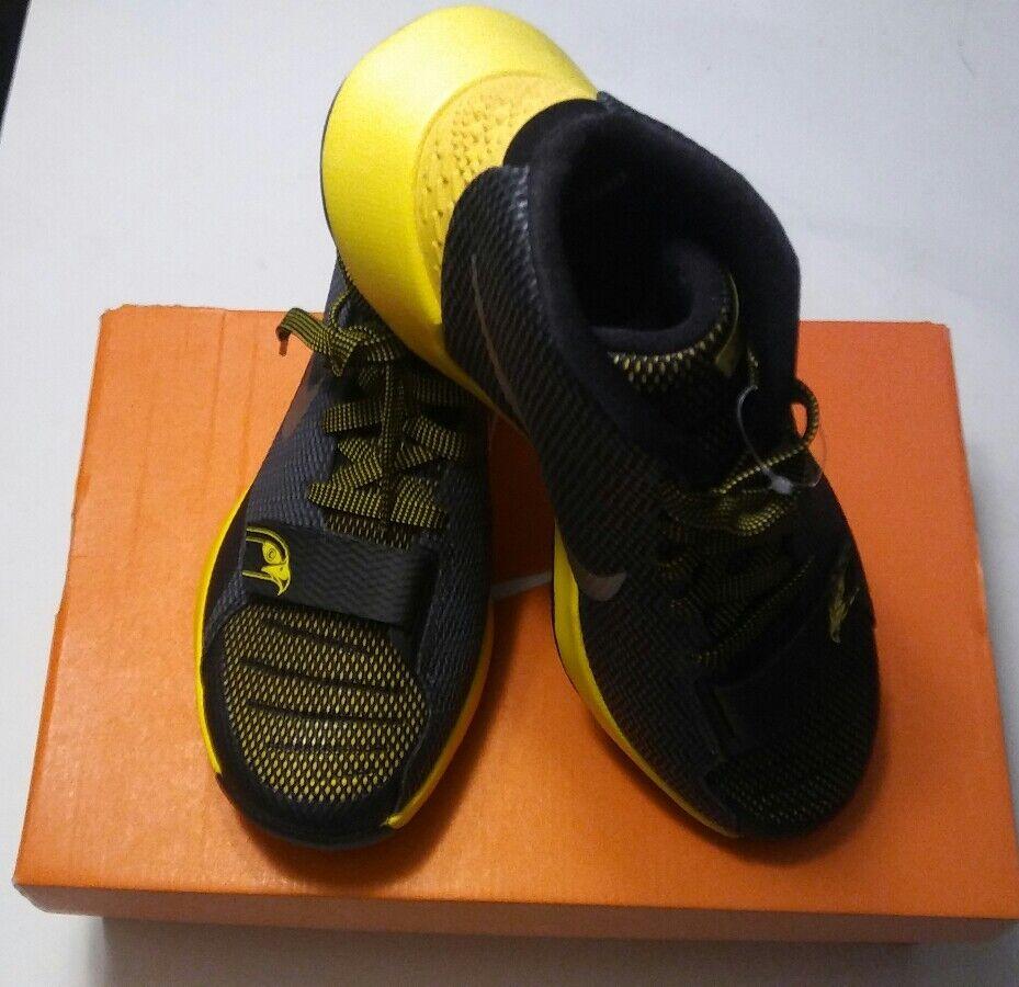 Nike kdtrey5iii negro / amarillo / plata zapatos 7,5 de baloncesto de tamaño 7,5 zapatos 749377-007 e5b50b
