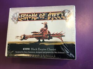 LEGIONS OF STEEL #3090 BLACK EMPIRE CHARIOT KIT SEALED BOX / DAVE SUMMERS