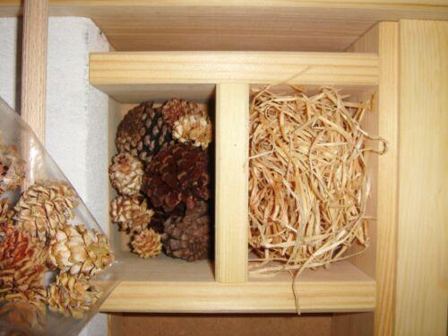 """Luxus-Insektenhotels /""""Weißer Palast/"""" 58x12x30cm Bienenhaus auch als Bausatz"""
