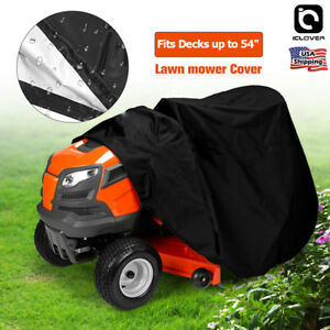 Garden-Waterproof-Lawn-Tractor-Riding-Mower-Cover-Fit-Decks-up-to-54-034-UV-Protect