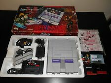Super Nintendo Killer Instinct System Complete SNES Console Super NES CIB Set