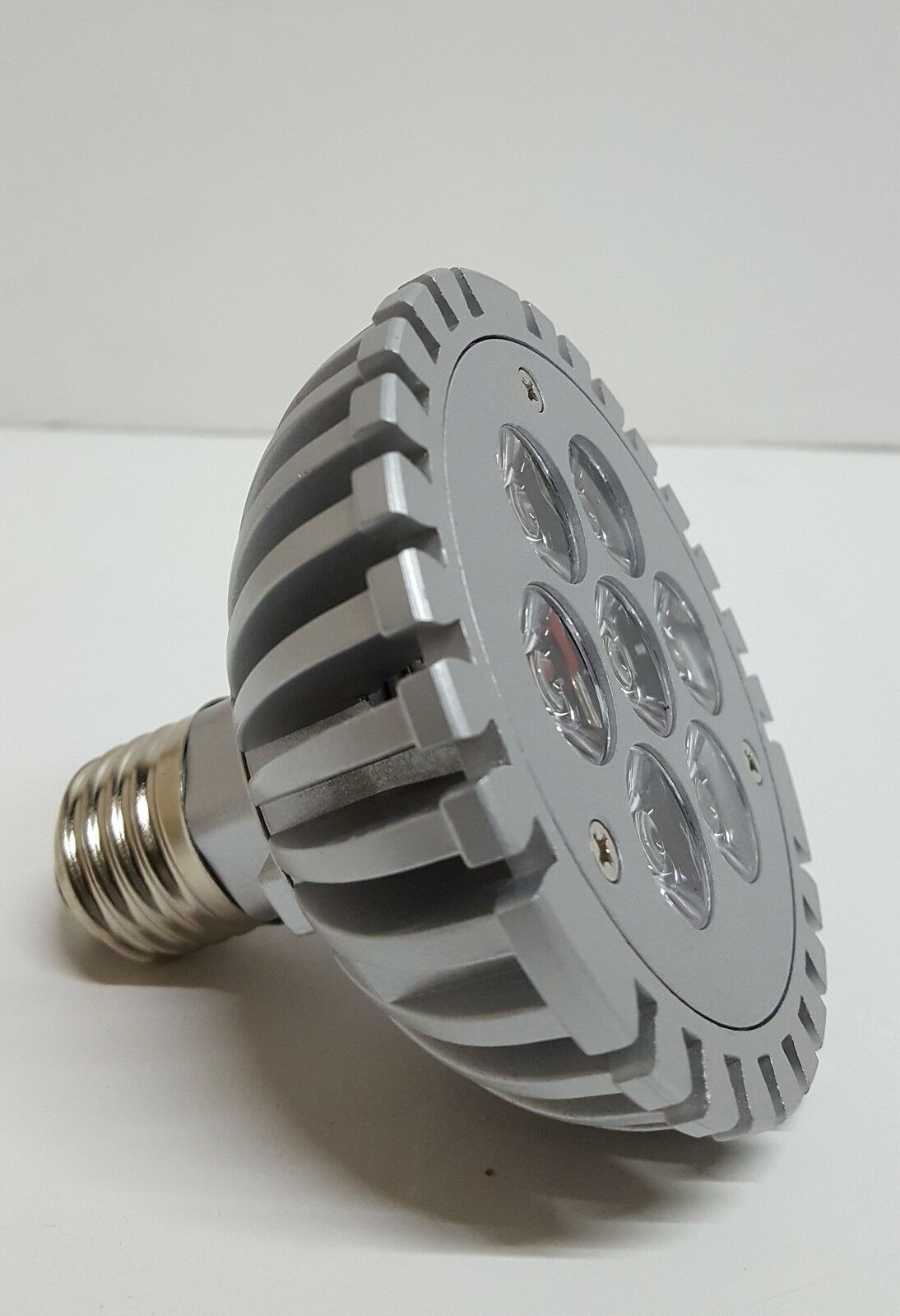 E27 Grow Light Mains PAR30 7W Blue LED Lamp Bulb Floodlight Energy Saving