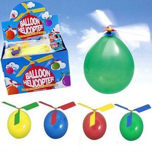 CompéTent 2 4 6 12 24 Ballon Hélicoptère Fun Fly Jouets Garçons Fille Anniversaire Fête Sac Remplissage-afficher Le Titre D'origine MatéRiau SéLectionné