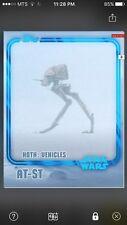 Topps Star Wars Digital Card Trader Blue AT-ST Hoth Insert