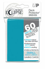 8e38be6e9ae1 Ultra Pro Matte Eclipse Sky Blue Small Size Deck Protector Sleeves 60ct  Ulp85829