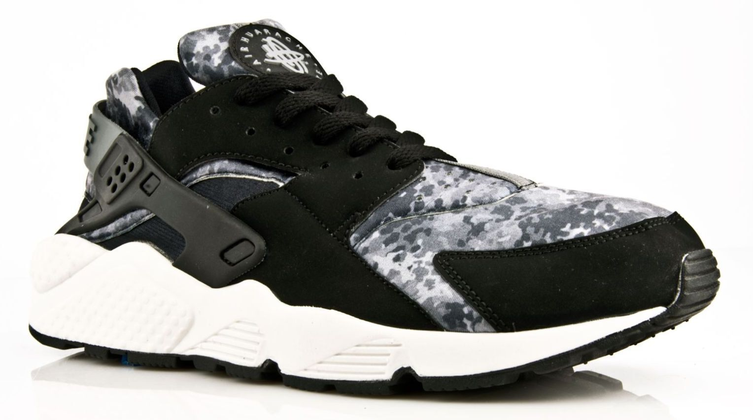Nike Air Huarache 'BLACK Free CAMO' All Sizes GENUINE Free 'BLACK P&P 000f35