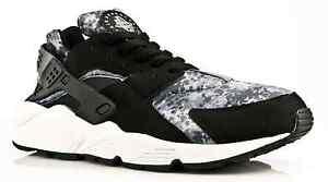 Nike-Air-Huarache-039-BLACK-CAMO-039-All-Sizes-GENUINE-Free-P-amp-P