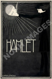 Hamlet vintage theater ad poster 12x18 | eBay