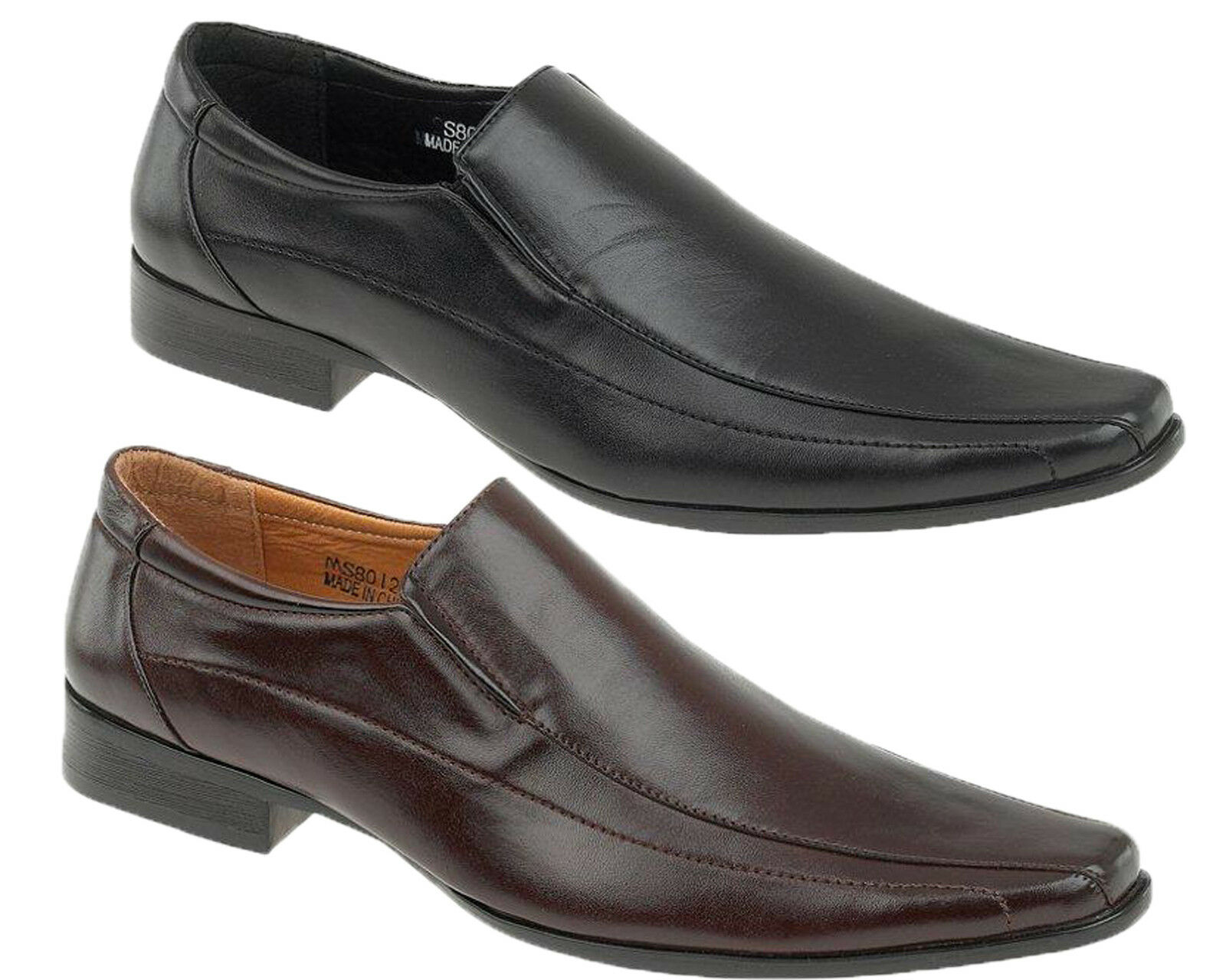 Mens MONTIALBANI Formal Smart Casual Shoes Slip-on Dress shoes Casual Smart Loafers shoes New 74811f