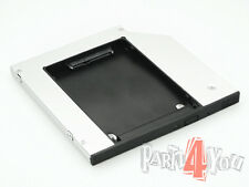 HD Caddy zweite Festplatte HDD 2nd HD Dell Precision M4600 M6400 M6500 M6600 NEU
