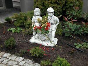 Blumenkübel Pflanz Kübel Dekoration Figur Blumentöpfe Garten Vasen 330