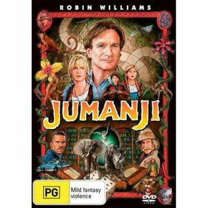 Jumanji-DVD-NEW-Region-4-Australia