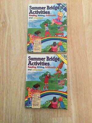 2 Summer Bridge Activities Books K-1 And 3-4 Reading ...