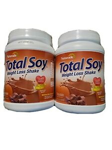 Lot 2 Naturade Total Soy Meal Replacement Chocolate 19.1 oz Egg / gluten Free