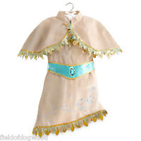 Disney Store Indian Princess Pocahontas Dress Costume Gown Many Sizes