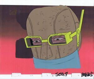 AEON FLUX ORIGINAL 1990'S PRODUCTION CEL MTV LIQUID TELEVISION Soldier