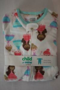 dd44a80193a2 NEW Toddler Girls Footed Pajamas Size 3T PJs Blanket Sleeper ...