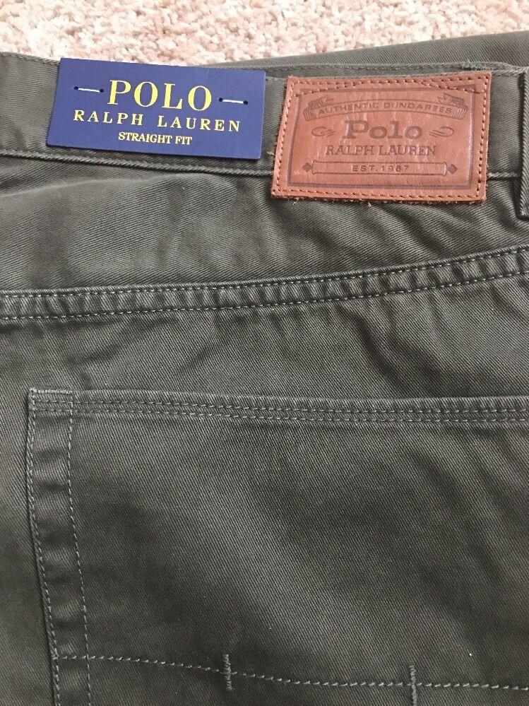 Polo Ralph Lauren Pants Hunter Olive Size 34x30