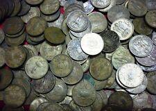20 paise ~~ lotus mark coin  ~~ 100 coin lot ~~ 1968-1971~~ bronze ~~ 4.50 grams