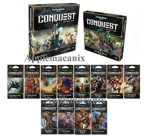 NEW-Warhammer-40K-Conquest-LCG-Living-The-Card-Game-Lot-Core-12-War-Packs-Exp