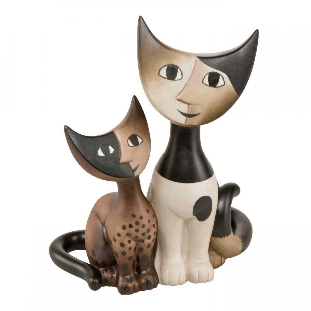 ELSA Rosina e Fermo Rosina ELSA Wachtmeister Chat Figurine 3cc4bb