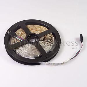 Tira-Flexible-300-Led-SMD-3528-5m-RGB-Mando-Controlador-IP20-casa-barco