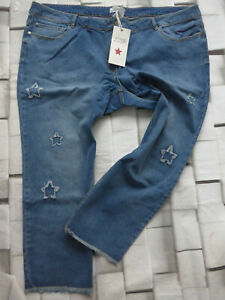 Jeans-Trousers-Angel-of-Style-Blue-Ladies-Size-56-plus-Size-047