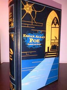 EDGAR-ALLAN-POE-STORIES-AND-POEMS-LEATHER-BOUND-BOOK-HARDBACK