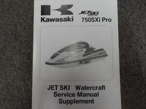 1998 kawasaki jet ski watercraft 750 sxi pro service manual rh ebay co uk kawasaki sxi 750 manual kawasaki 750 sxi pro repair manual